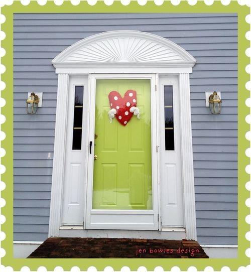 Jen heart door