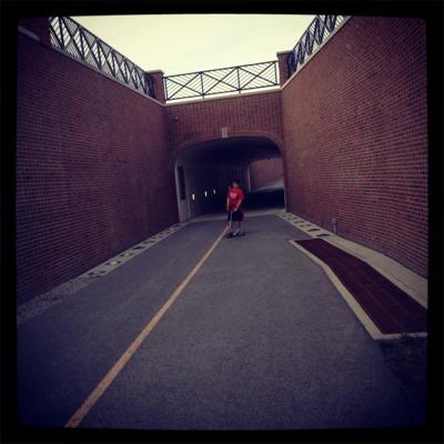 Monon tunnel