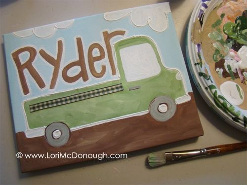Ryder canvas