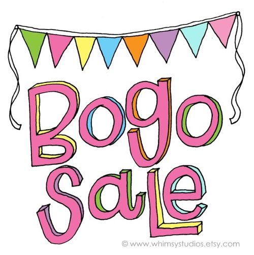Bogo sale copy