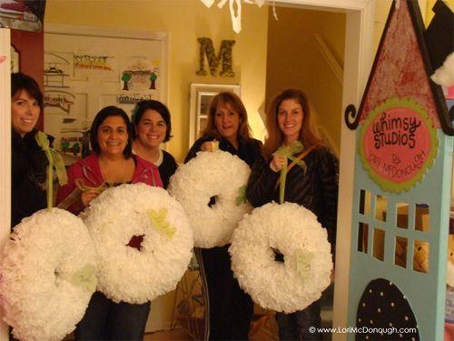 Cc girls wreaths done