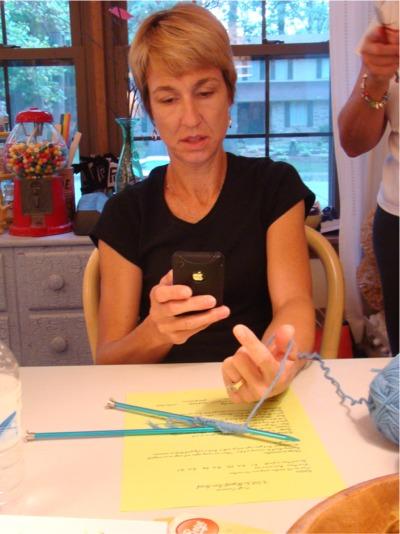 Knitting beth