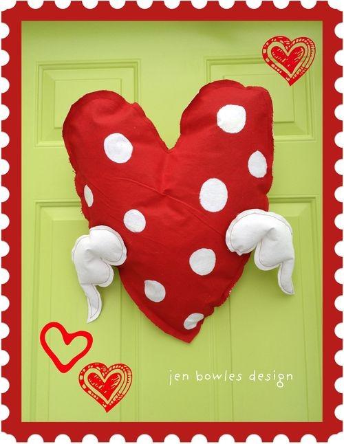 Jen heart green door closeup