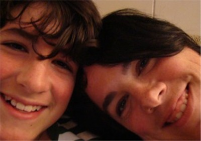 16 riley and mom