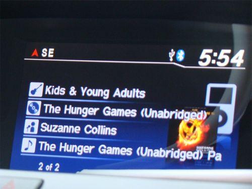 Hunger games car