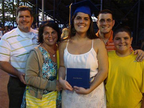 Kate grad family