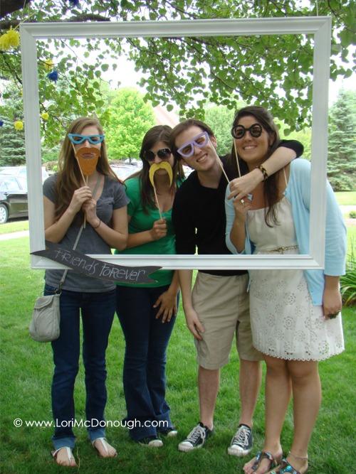 Kate grad party friends 2