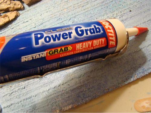 Driftwood glue