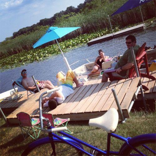 Summer 12 dock