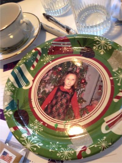 Hallmark plate