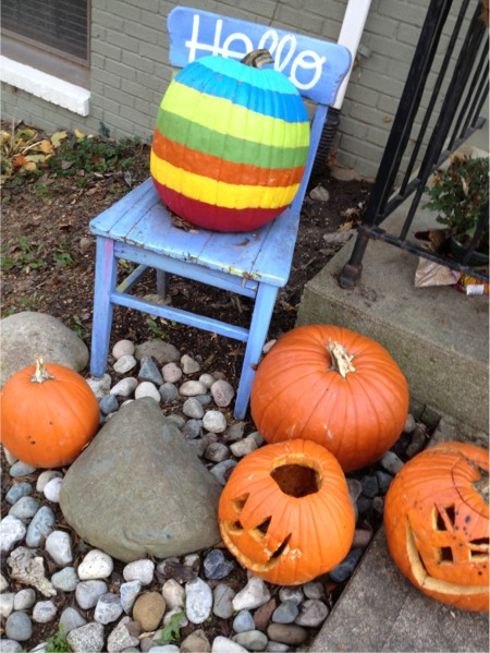 Striped pumpkin 2012