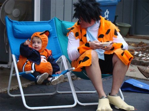 Halloween 2012 fred and nemo