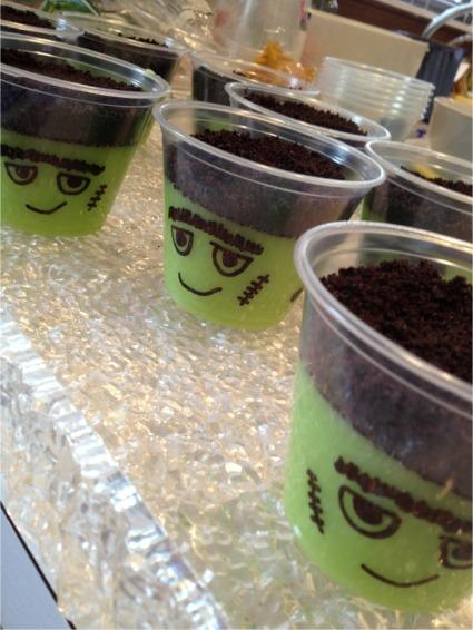 Halloween 2012 frank cups