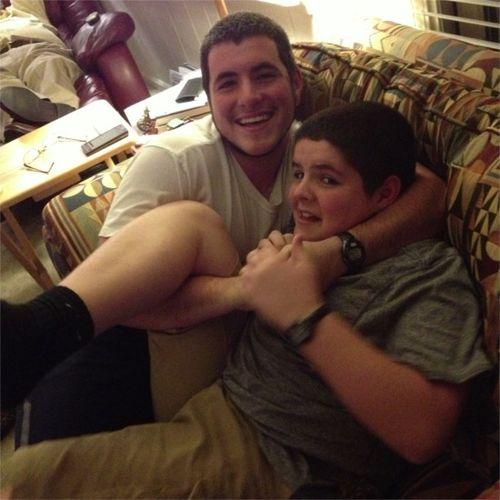 Family wrestling