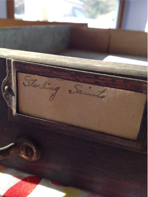 Vintage supply drawer