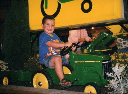 Little riley tractor