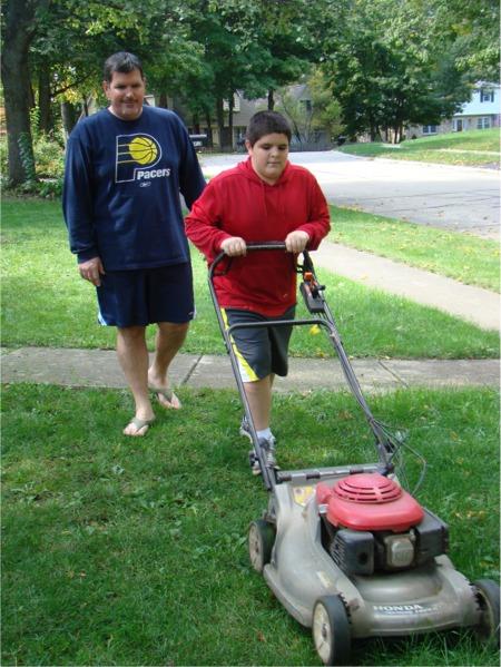 G mowing