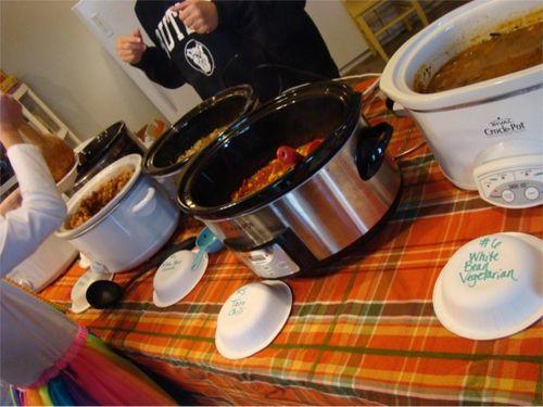 Halloween 2012 cook off