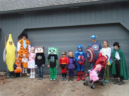 Halloween 2012 costumes