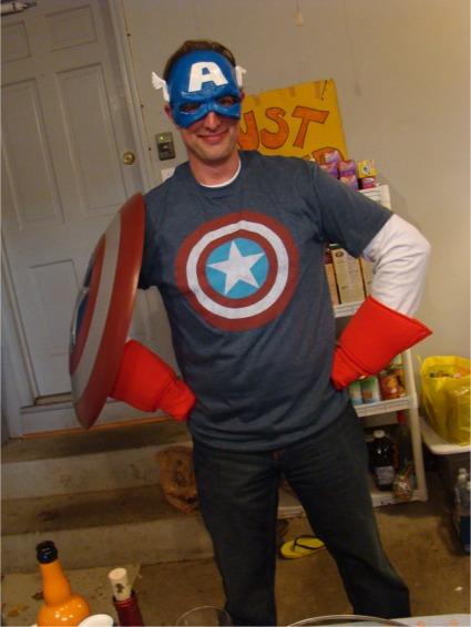 Halloween 2012 capn america