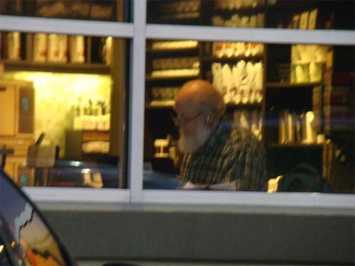 Ikea 12 santa in window