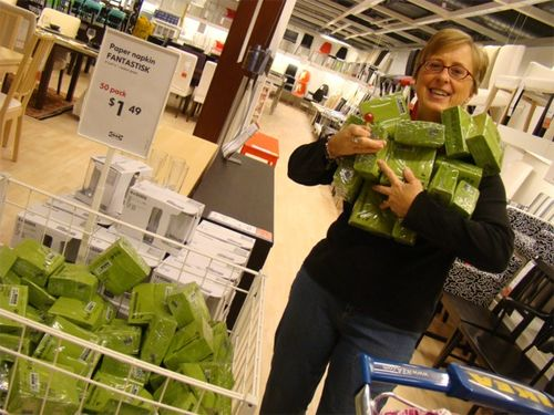 Ikea 12 martha napkins