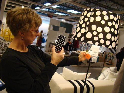 Ikea 12 martha dots