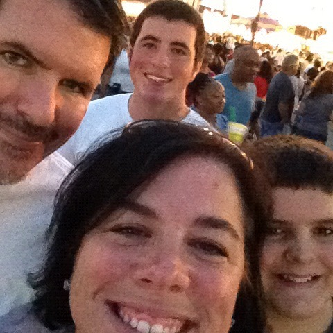 Family at fair