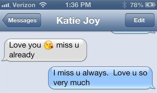 Katie text