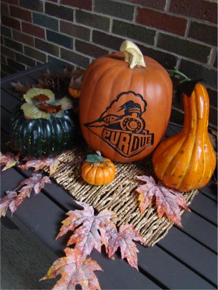 Purdue pumpkin