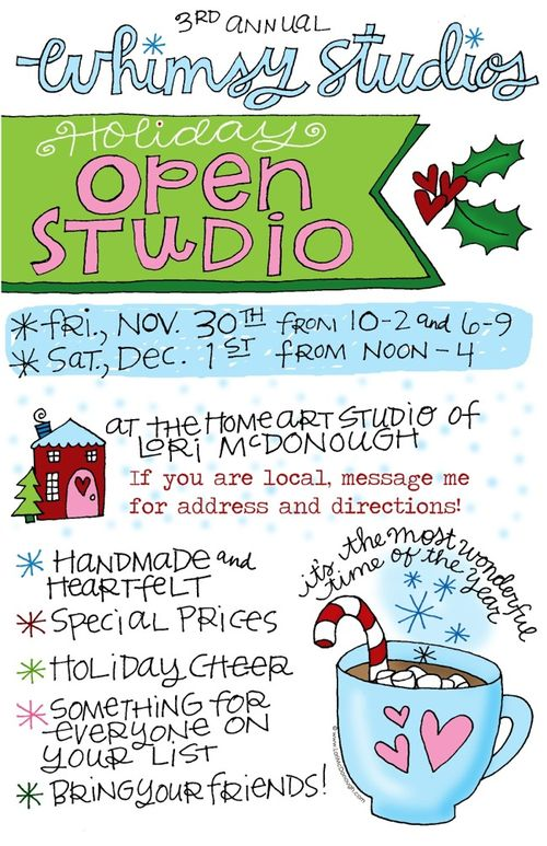 Open studio 2012 blog