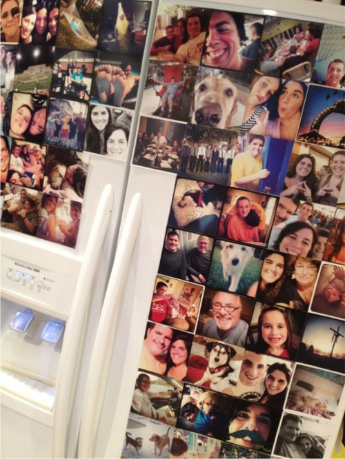 Instagrammed fridge