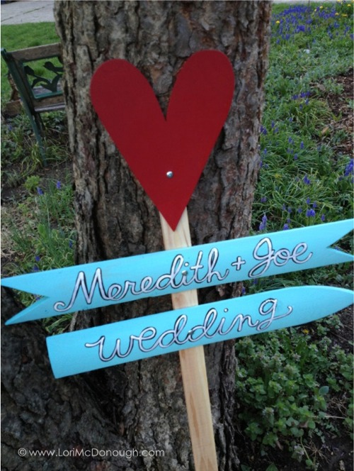 Wedding sign by whimsy studios 1