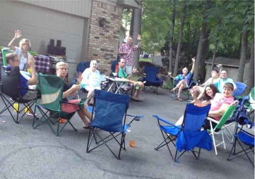 Summer neighbors