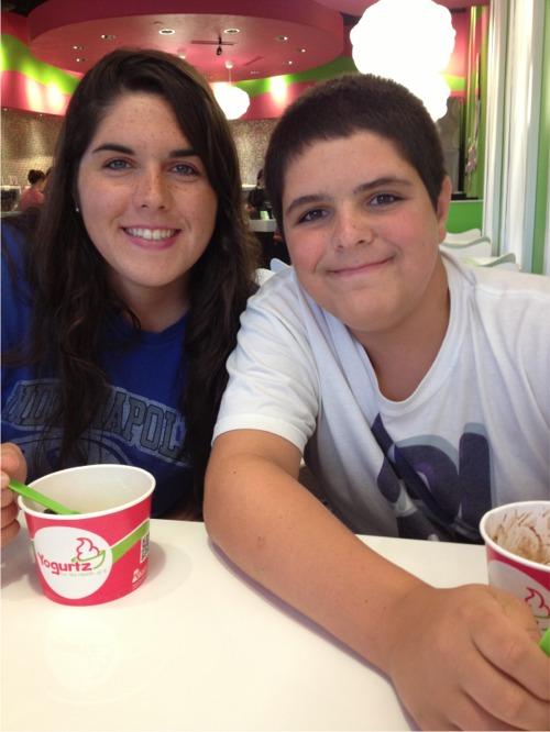 Summer yogurt