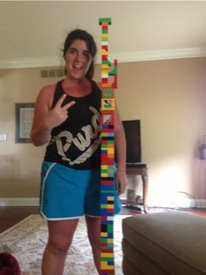 Lego tower k