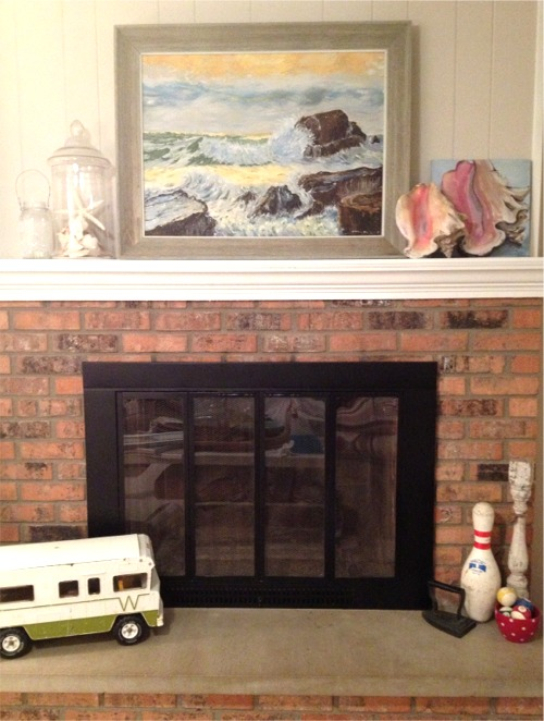 Fireplace redo done