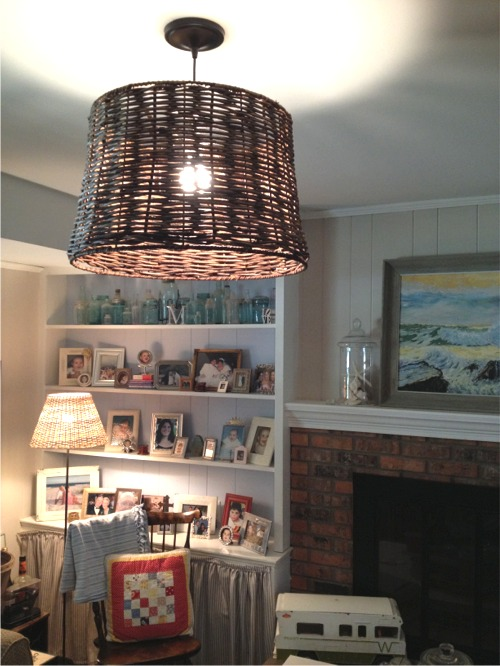 Overhead lighting after
