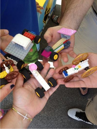 Legos at the fair