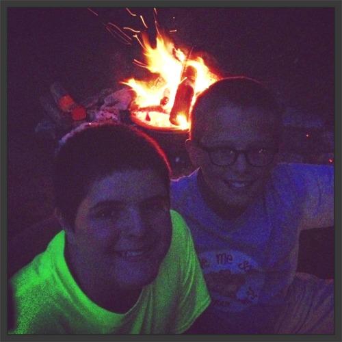 Summer bonfires