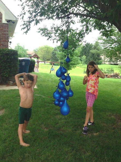 Nanny mcd water balloons