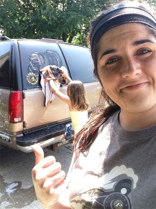 Nanny mcd car wash
