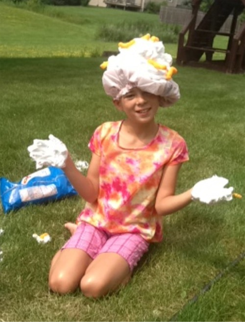 Nanny mcd shaving cream and cheese doodles