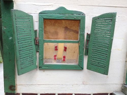 Dollhouse windows