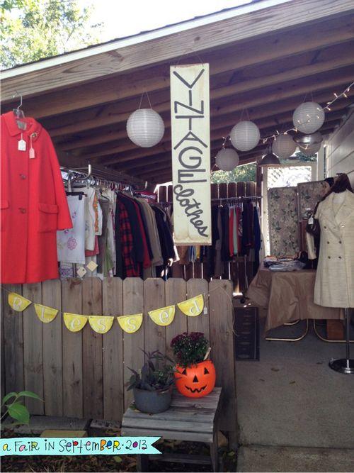 A Fair in September vintage clothes