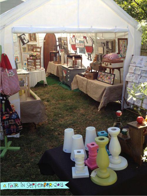 A Fair in September tent