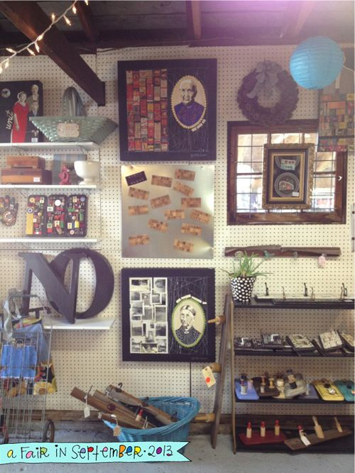 A Fair in September vintage goods