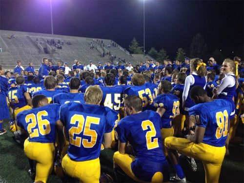 Senior night victory speech