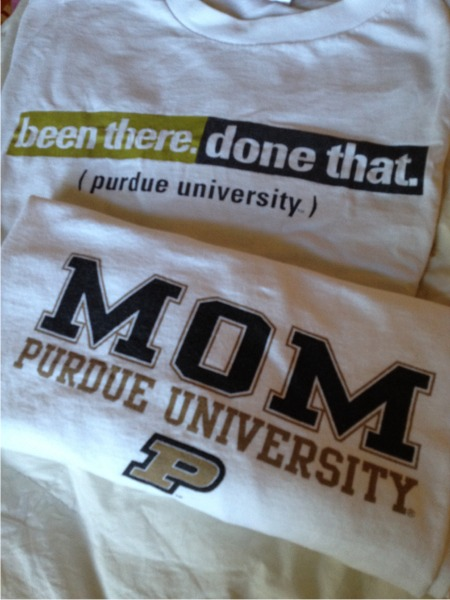 My purdue tshirts