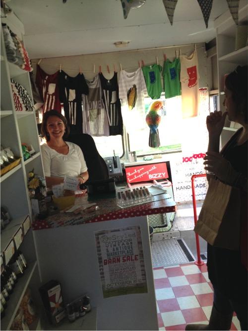 Barn sale inside bizzys boutique